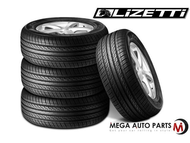 4 X New Lizetti LZ-THREE All Season MEGA Perfomance Tire 195/60R14 86H
