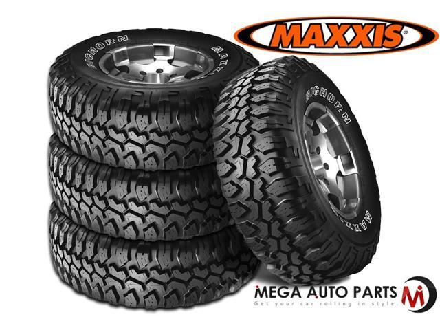 4 X New Maxxis Bighorn MT-762 LT305/70R17 119/116N D/8 All Terrain Mud Tires