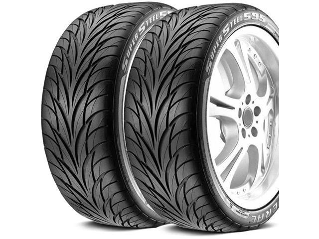 2 x new federal ss595 245 50r16 98v all season ultra high performance tires. Black Bedroom Furniture Sets. Home Design Ideas