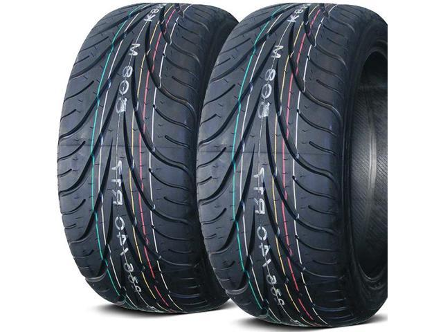 2 X New Federal 595RS-R 245/35ZR18 88W Ultra High Performance Tires
