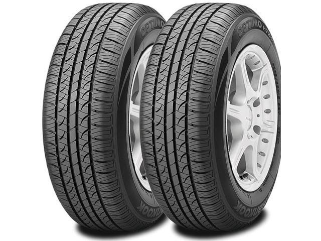 2 X New Hankook Optimo H724 P205/75R14 95S WSW All Season High Performance Tires