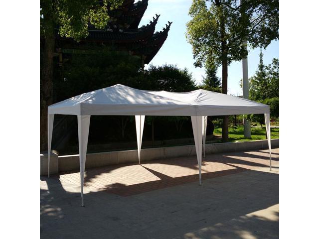 10 X 20 Ez Pop Up Wedding Party Gazebo Patio Tent Folding Canopy No