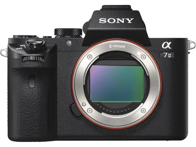 Sony Alpha a7II Mirrorless Interchangeable Digital Lens Camera - Body Only