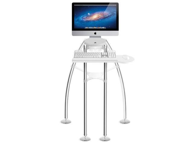 Rain design igo desk for imac 20 23 inches standing model - Desk for imac inch ...