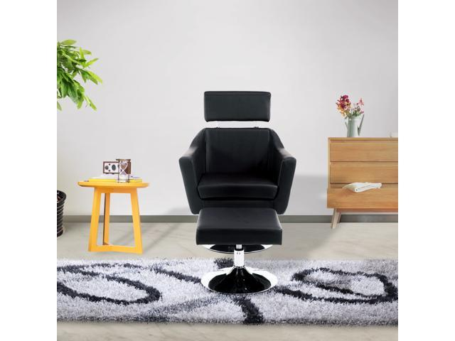 Cloud Mountain Modern Leisure TV Chair and Ottoman fice Chair