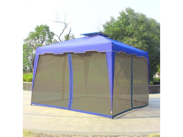Cloud Mountain 10u0027 x 10u0027 Gazebo Mosquito Netting for Gazebo Canopy Royal Blue  sc 1 st  Newegg.com : 10x10 canopy with netting - memphite.com