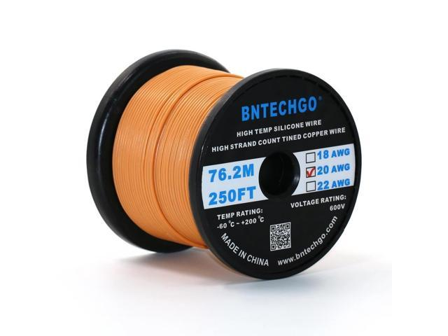 Bntechgo 14 gauge silicone wire 200 feet gray spool soft and bntechgo 14 gauge silicone wire 200 feet gray spool soft and flexible high temperature resistant greentooth Choice Image