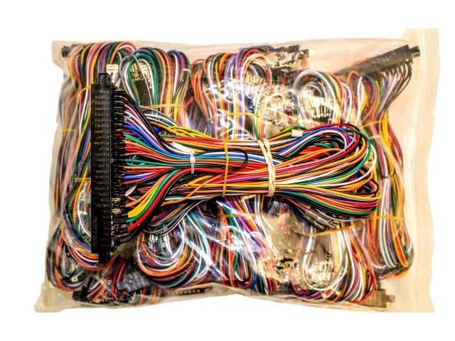 AEGK_1_201708221447396668 jamma board standard cabinet wiring harness loom for jamma 60 in 1