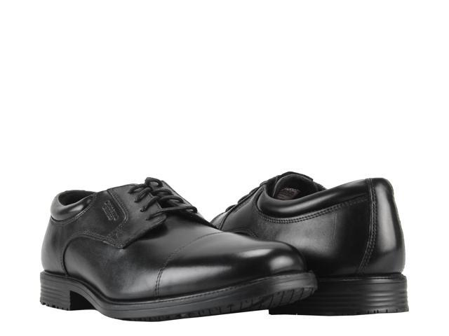 Rockport Essential Details Waterproof Cap Toe Black Men's Dress Shoes  V73839 Size 12W
