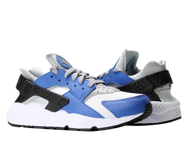 Nike Air Huarache Comet Blue/Matte Silver Men's Running Shoes 318429-406