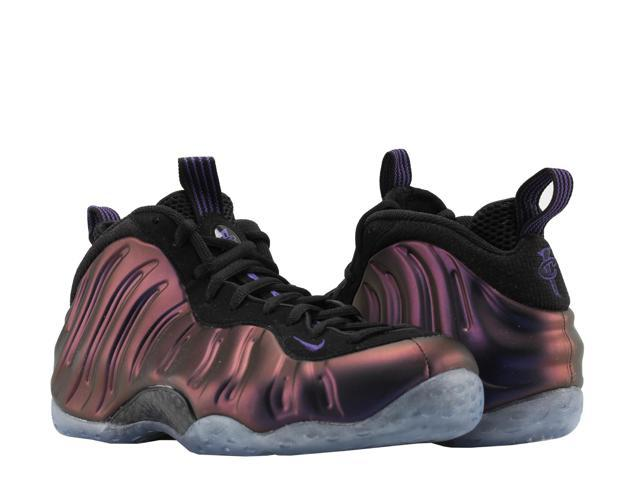 Nike Air Foamposite One Black/Purple Eggplant Men's Basketball Shoes  314996-008 Size 8.5