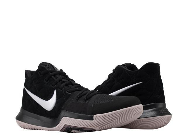 Nike Kyrie 3 Black/White-Siltstone Red Men's Basketball Shoes 852395-010  Size