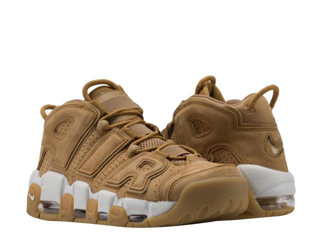 Nike Air More Uptempo '96 PRM Flax/Phantom Men's Basketball Shoes AA4060-200