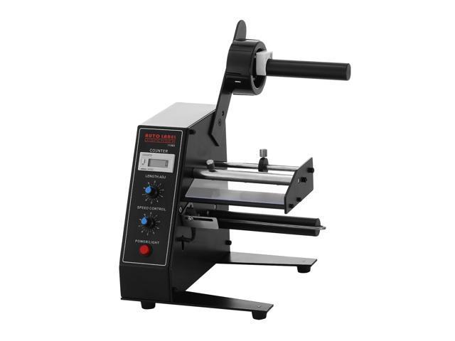 VEVOR Label Dispenser Adjustable Speed Automatic Label Dispenser Digital Control Label Dispenser Machine Sticker Separating Machine