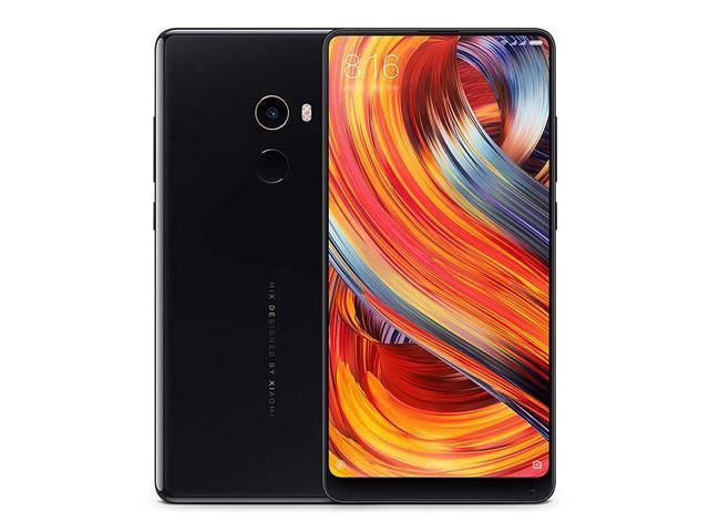 Xiaomi Mix 2 5.99 Inch 4G LTE Smartphone 6GB 64GB 12.0MP Qualcomm Snapdragon 835 Octa Core Android 7.1 Type-C - Black-