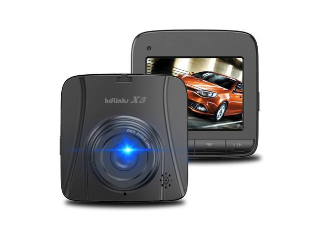 KDLINKS X3 2.7K Super HD Car DVR Vehicle Dash Cam