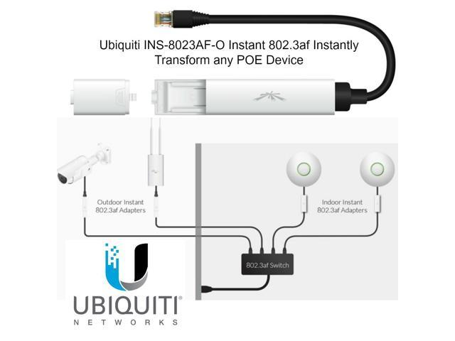 Ubiquiti INS-8023AF-O Instant 802.3af Instantly Transform any POE Device