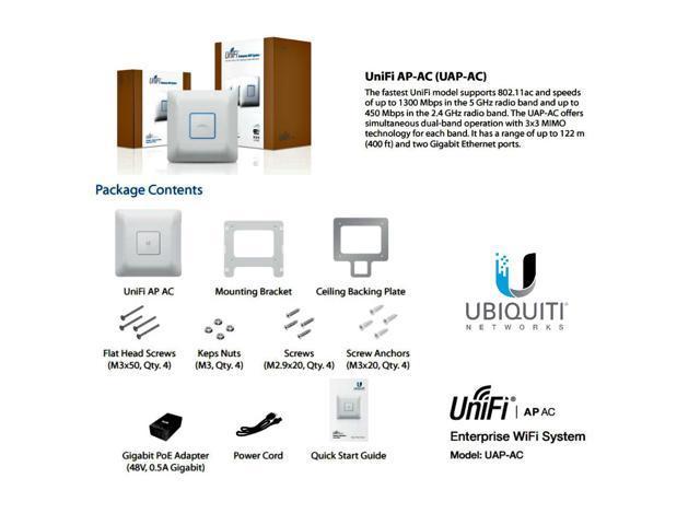 ubiquiti unifi ap ac uap ac uap ac dual band access point a b g n ac 3x3 mimo newegg ca
