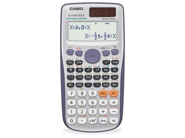 Casio fx-115ESPlus Scientific calc 417 function