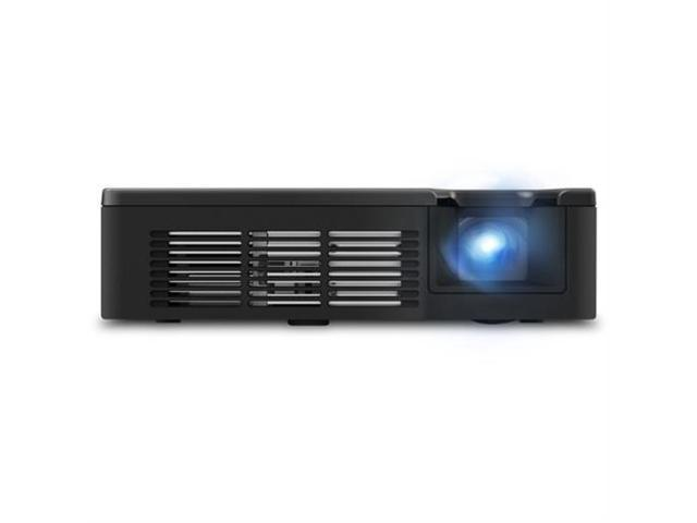 ViewSonic PLED-W800 1280 x 800 WXGA 800 ANSI Lumens, 5V USB Charging Port, 30K HRs Lamp Life, HDMI / MHL Input, Built-in 2W Speakers, SuperColor TM Tech, Ultra-portable LED Projector