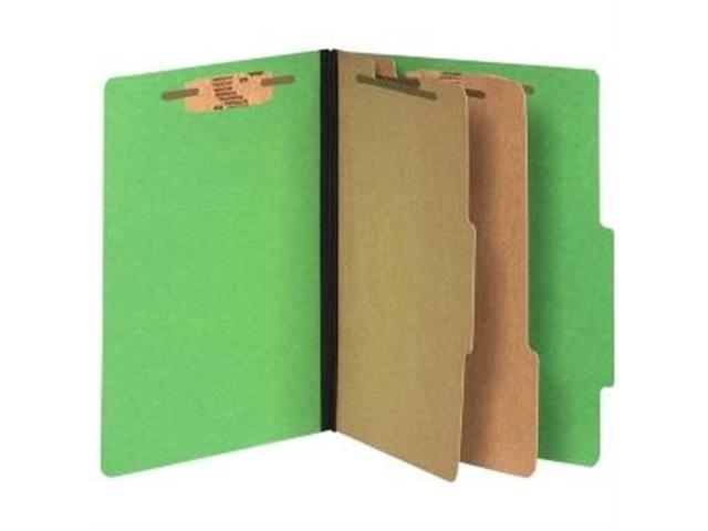 "Acco 15665  ColorLife Presstex Classification Folder Letter - 8.50"" W x 11"" L - 3"" Expansion - Presstex, Acrylic - 2 Dividers ..."