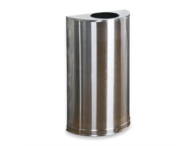 United Receptacle SO12SSSPL Open Top Indoor Waste Receptacle