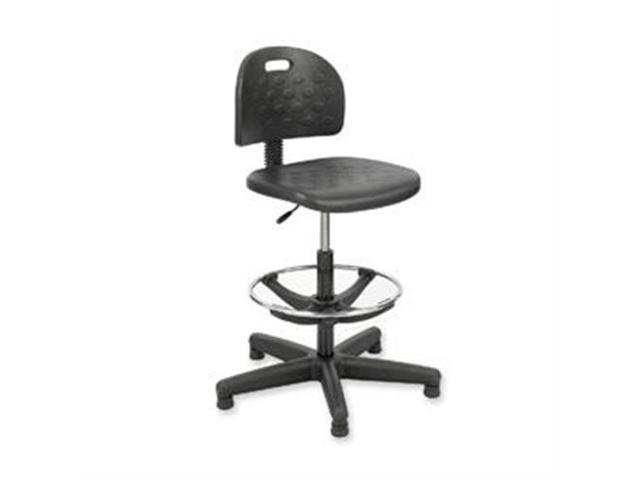 Safco Soft Tough Economy Workbench Drafting Chair Black