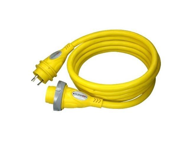 Furrion F30P25-SY 30A CORDSET 25FT YELLOW LED