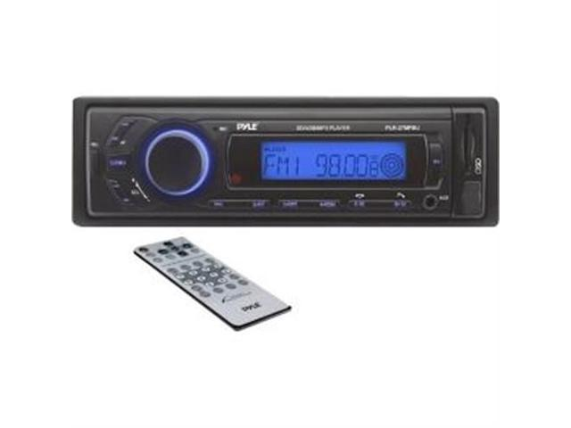 PYLE PRO PLR27MPBU Single-DIN In-Dash Mechless AM/FM Receiver with Bluetooth(R)