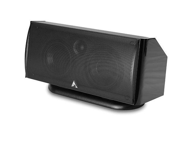 Atlantic Technology 2400 C 140 W RMS Speaker - 2-way - Each (Gloss Black)
