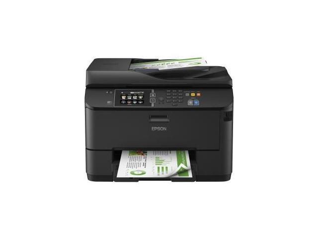 EPSON WorkForce WF-4630 ISO Print Speed: 20 ISO ppm 2-Sided ISO Print Speed: 11 ISO ppm Black Print Speed InkJet Workgroup Color Printer - Inkjet Printers