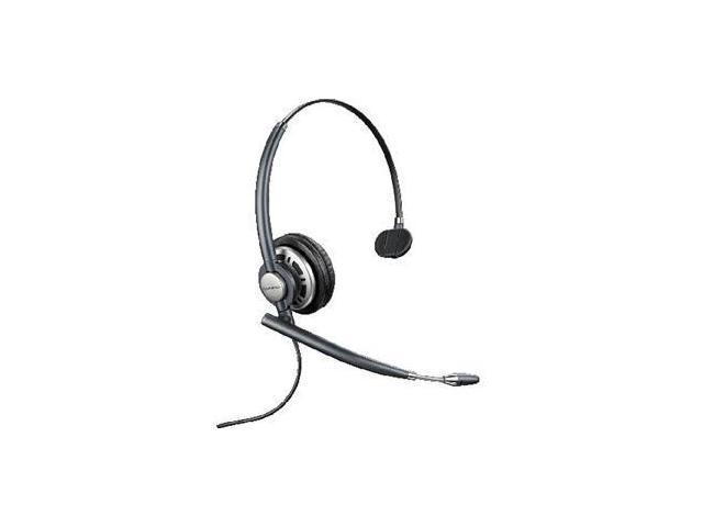 Plantronics EncorePro HW710 Monaural Headset with Noise-Canceling Mic (78712-101)