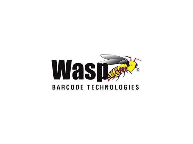 Wasp 50 Barcode Badges, Sequence 1-50 - Bar Code Card - 50/Pack