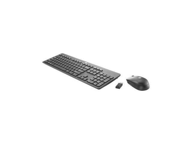 HP Slim - Keyboard and mouse set - wireless - 2.4 GHz - US - Smart Buy - for EliteBook