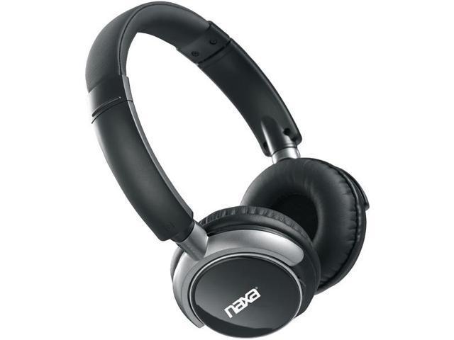 NAXA NE-927 Bluetooth(R) Wireless Stereo Headphones with Microphone