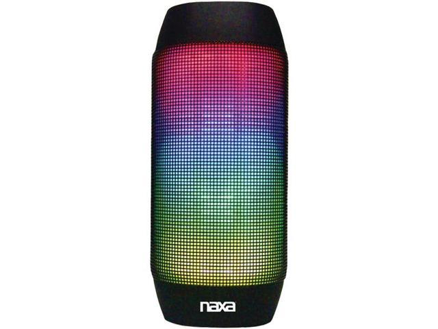 NAXA NAS-3062 Bluetooth(R) Speaker with LED Lighting Effects