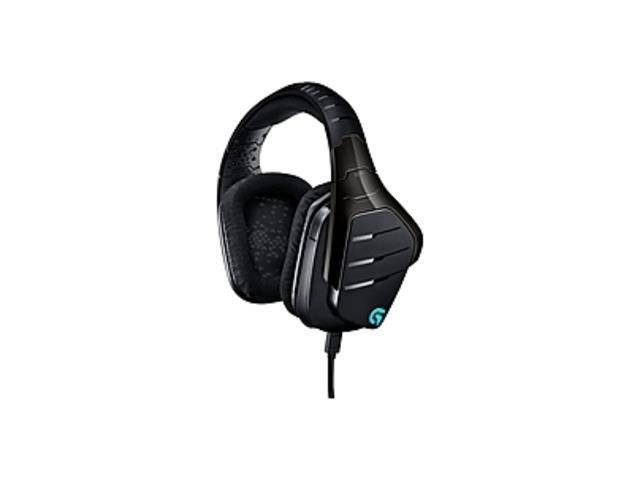 Logitech G633 Artemis Spectrum RGB 7.1 Surround Gaming Headset - Black - Mini-phone, USB - Wired, 39 Ohm, 20Hz - 20kHz , Over-the-head - Binaural – Circumaural