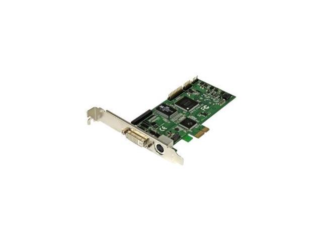 StarTech.com PEXHDCAP60L High-Definition PCIe Capture Card, HDMI VGA DVI & Component