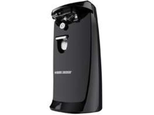 Black & Decker EC475B Extra-Tall Electric Can Opener- Black