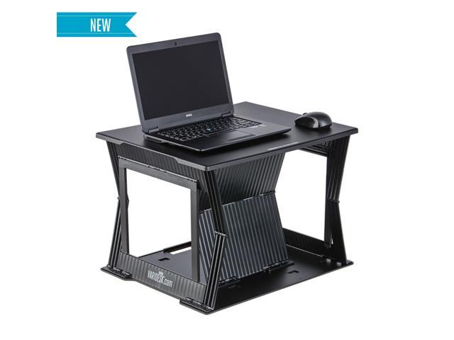 Small Standing Desk Laptop 22 by VARIDESK Compact StandUp Desk