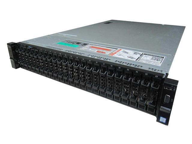 Dell PowerEdge R730xd Server - 2 x E5-2683V3 - 32GB RAM - 8 x 900GB 10K SAS HDD