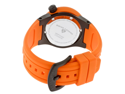 SWISS LEGEND Women's Neptune (40 mm) Black Dial Orange Silicone