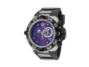 Invicta Men's Subaqua/Noma IV Chronograph Purple Dial Black Polyurethane