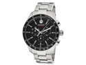 Movado Men's Series 800 Chronograph Black Dial Stainless Steel