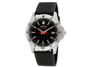 Movado 2600099 Series 800 Black/Orange Dial Men's Watch