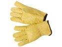 Maxam GFDWGLV Genuine Leather Work and Driving Gloves
