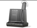 Plantronics W700 Series W730-M Wireless Headset System Optimized for Microsoft Lync, Convertible
