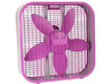 Jarden Home Environment HBF2001C-PWM Holmes 20 in. Box Fan-Purple