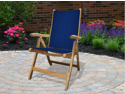 Royal Teak FLNY Florida Chair-Navy Sling
