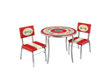 Guidecraft G85802 Retro Racers Table & Chair Set